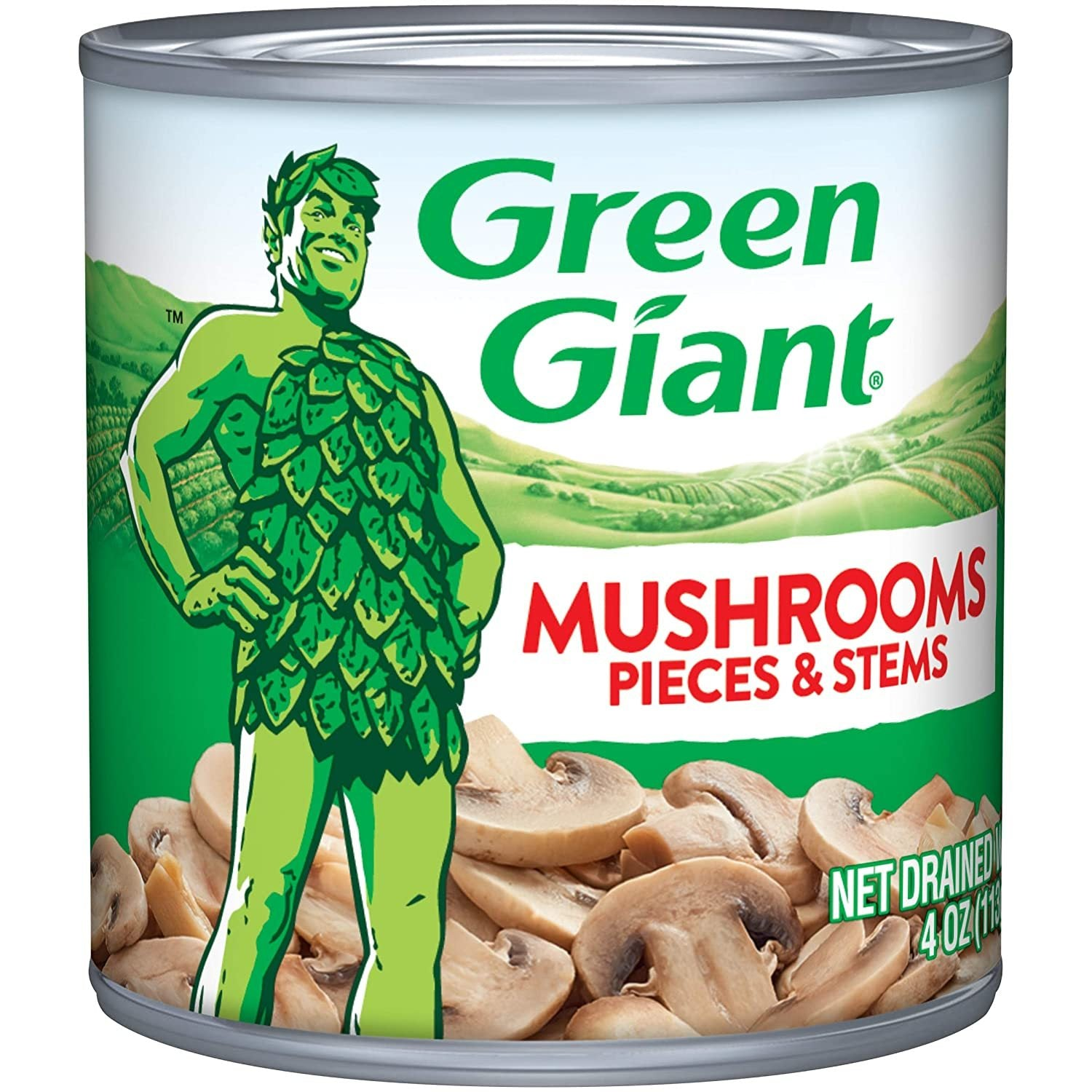 stl>Green Giant Mushroom Pieces and Stems - 1 can - 14oz