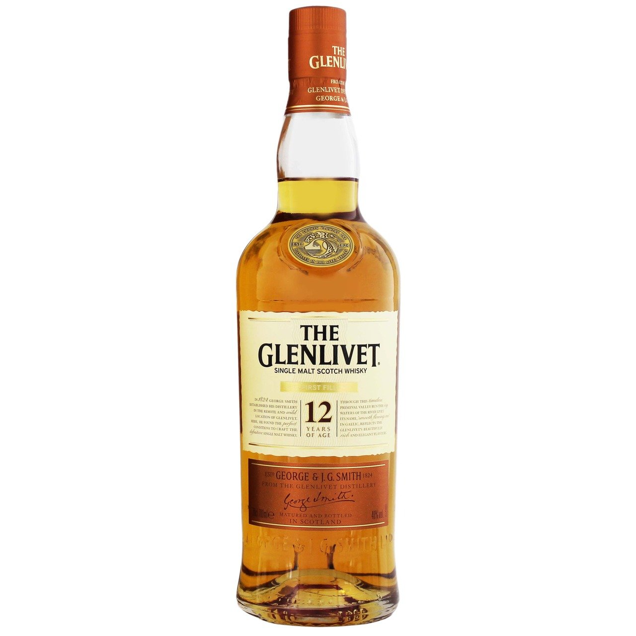 stl>Glenlivet 12 Year Old Scotch Whisky - 750ml