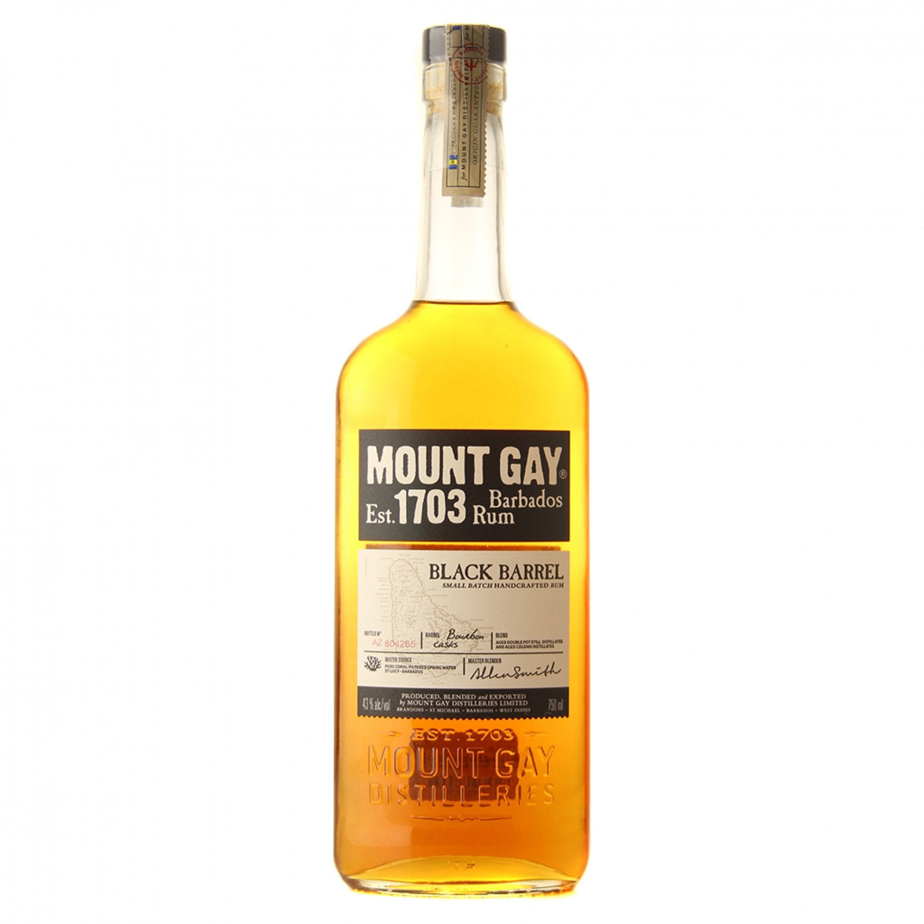 stl>Mount Gay Black Rum - 750 ml