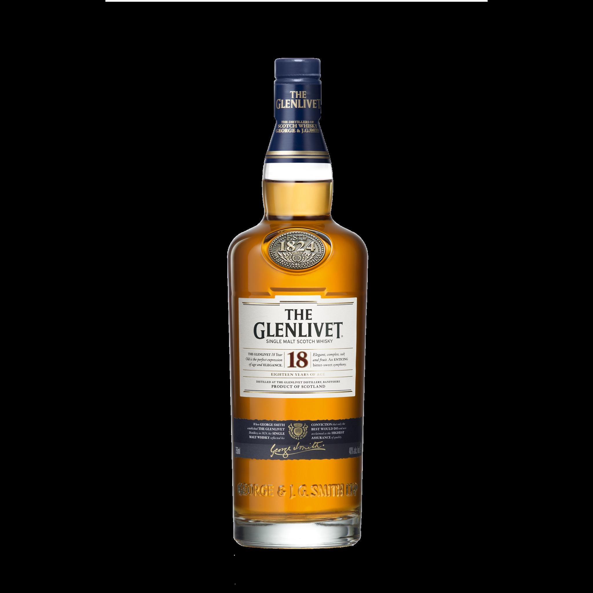 stl>Glenlivet 18 Year Old Scotch Whisky - 750ml