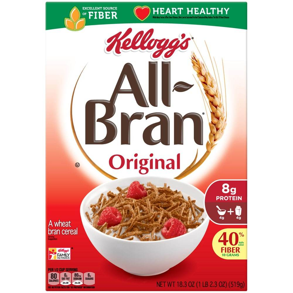 gre>All Bran 25 oz -1 Box