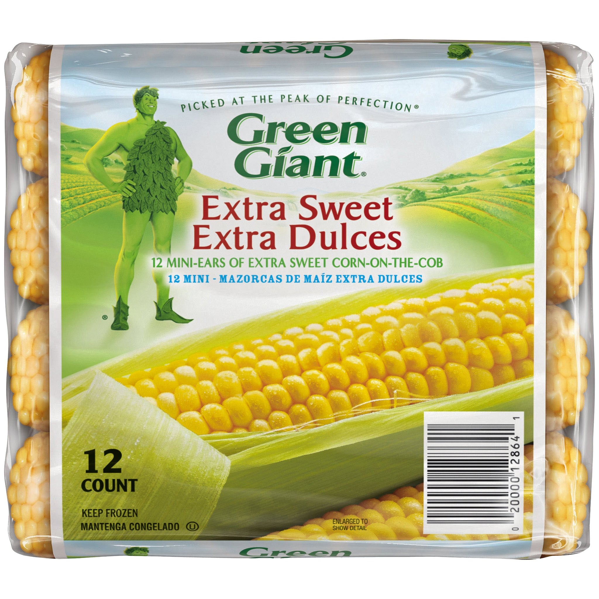 gre>Green Giant Corn On The Cob - Frozen - 12 in packet