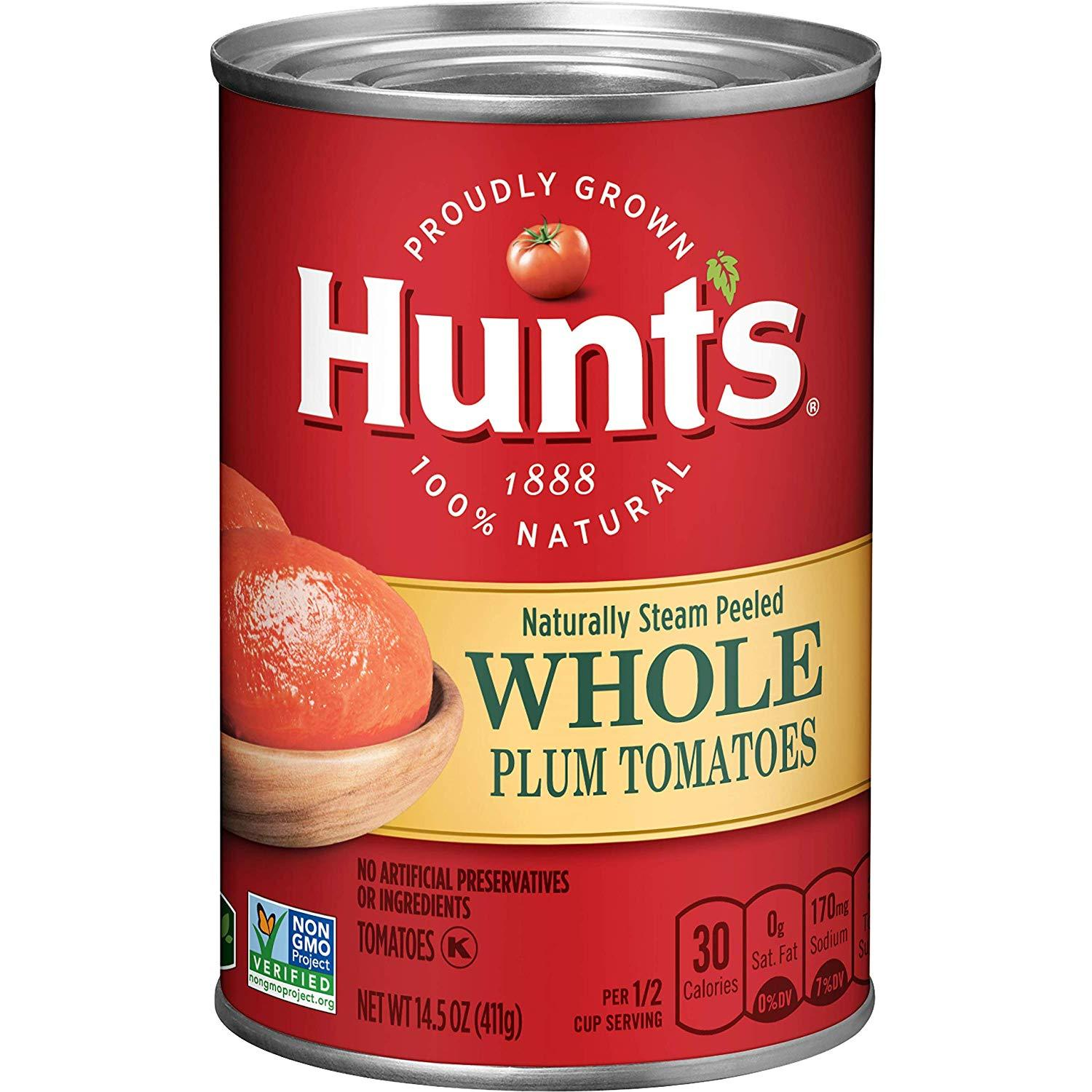 gre>Hunts Canned Whole Tomatoes -14oz Canned