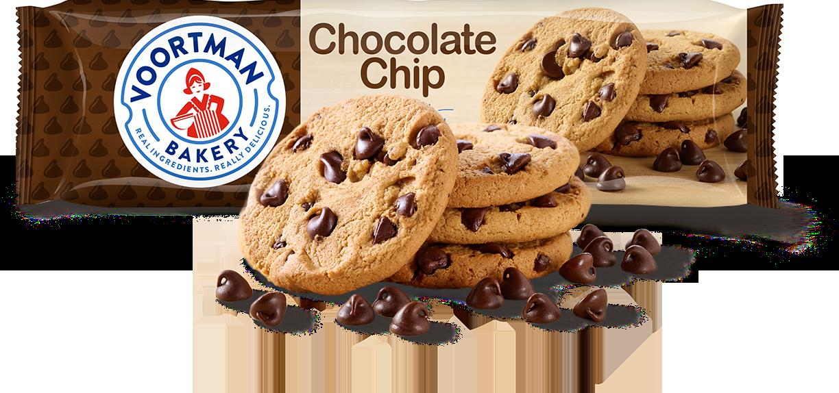 gre>Voortman Chocolate Chip Cookies - per packet
