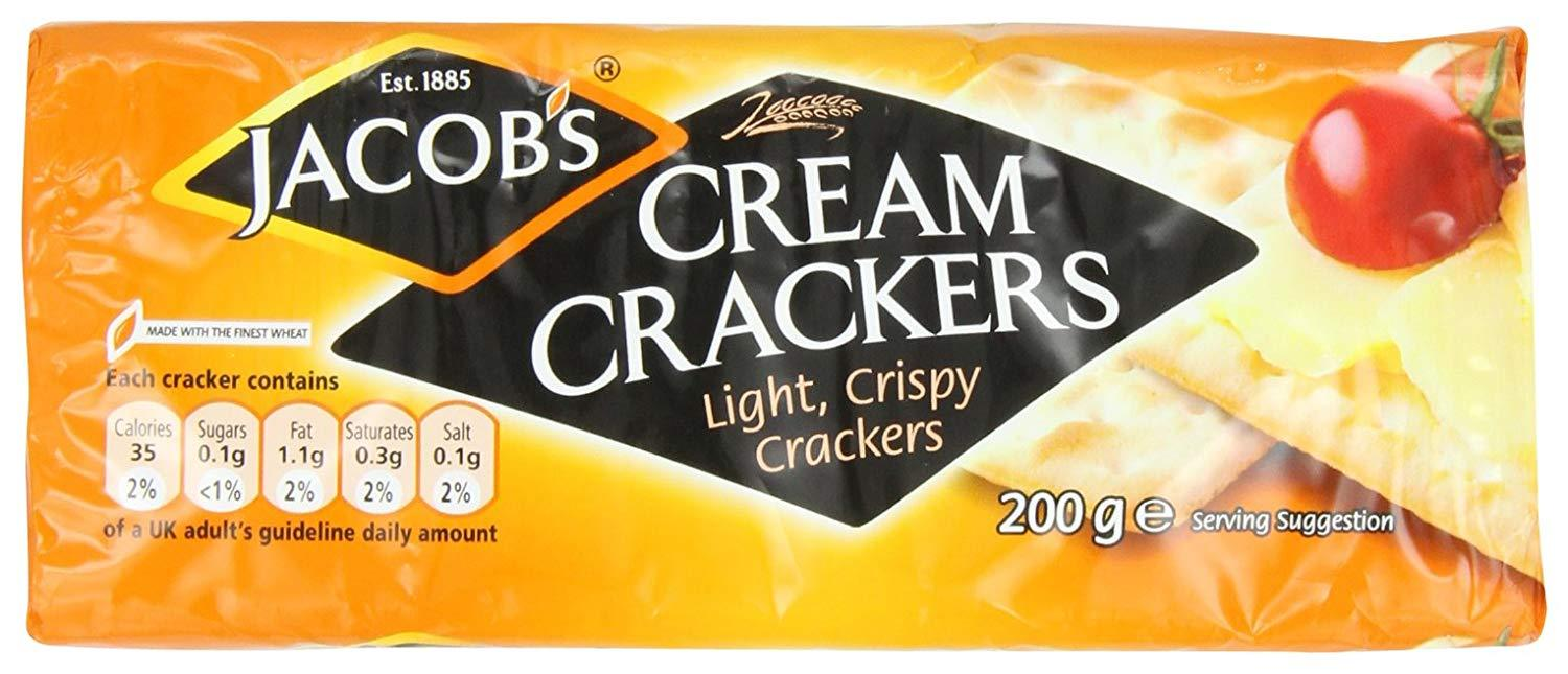 gre>Jacob's Cream Crackers - 200g