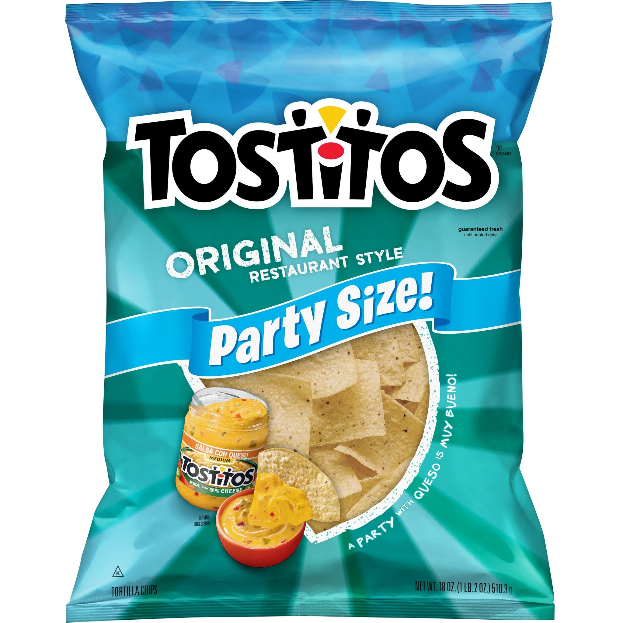 gre>Tostitos Tortilla Chips - Original - 16pz