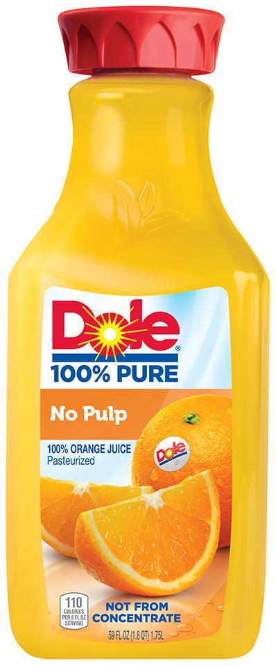 gre>Dole Orange Juice without pulp - 59oz