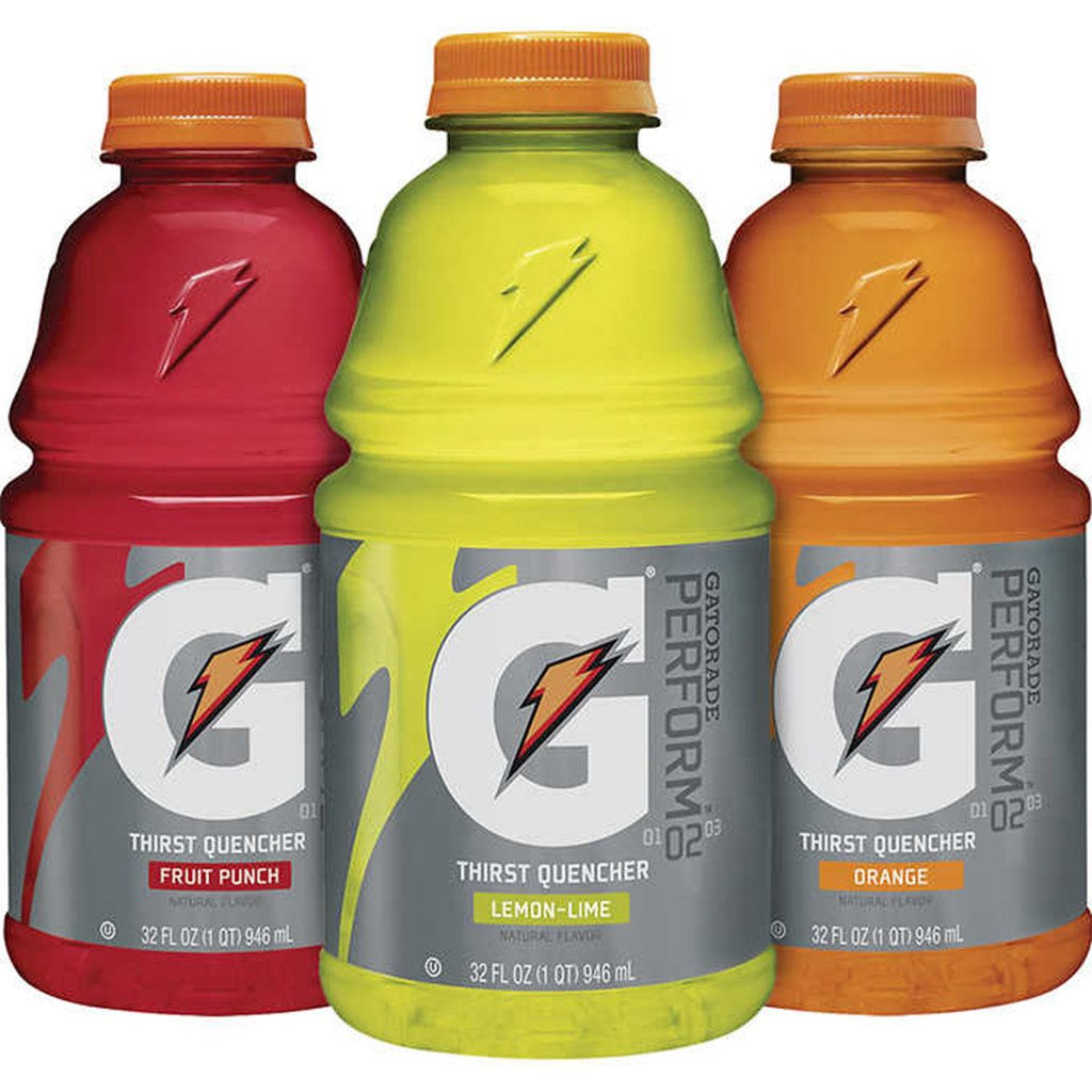gre>Gatorade - Assorted flavors -32oz