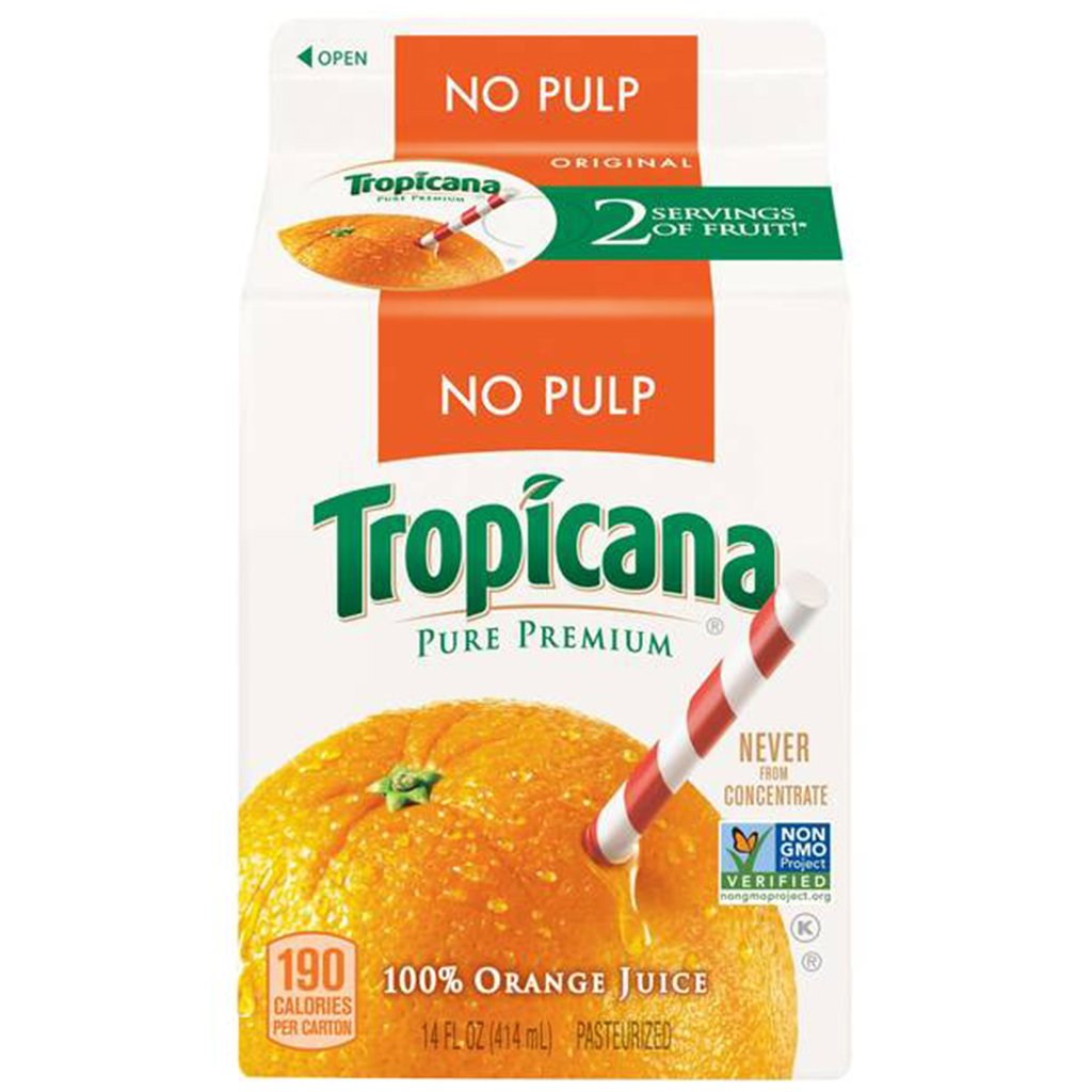 gre>Tropicana Fresh Orange Juice - 14oz