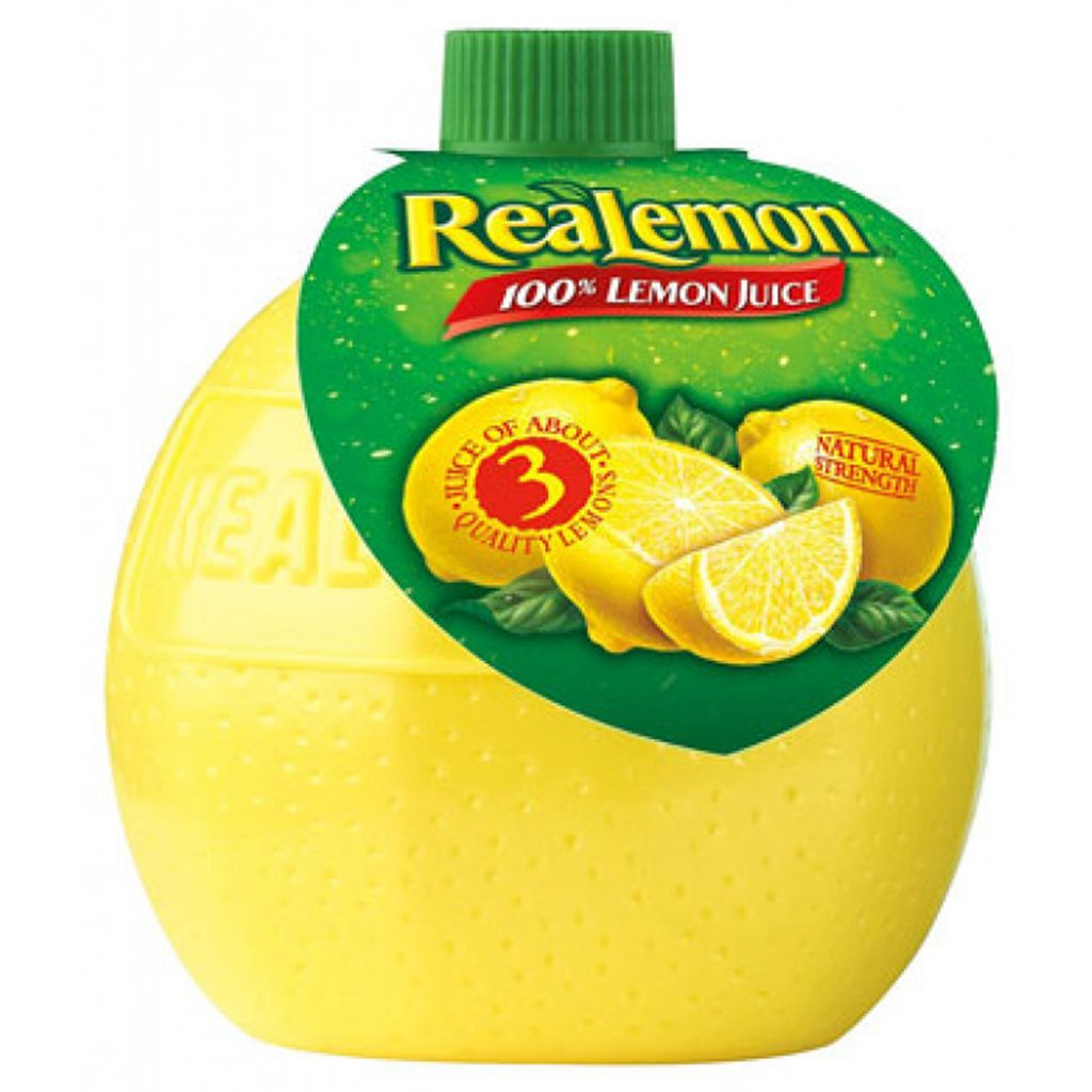 gre>Real Lemon Juice - 2.5 oz