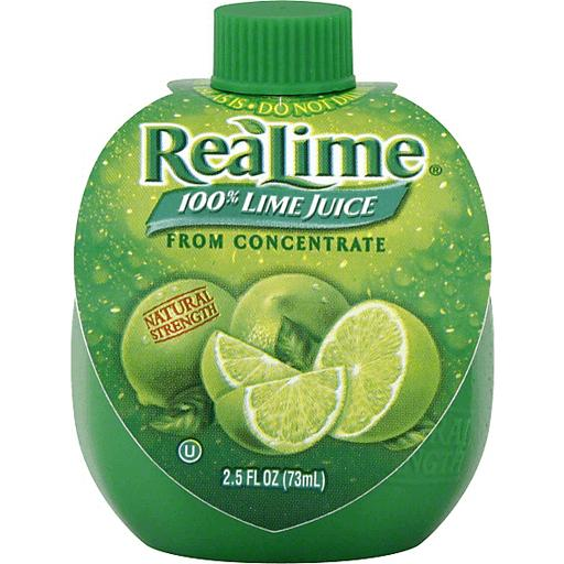 gre>Real Lime Juice - 2.5 oz