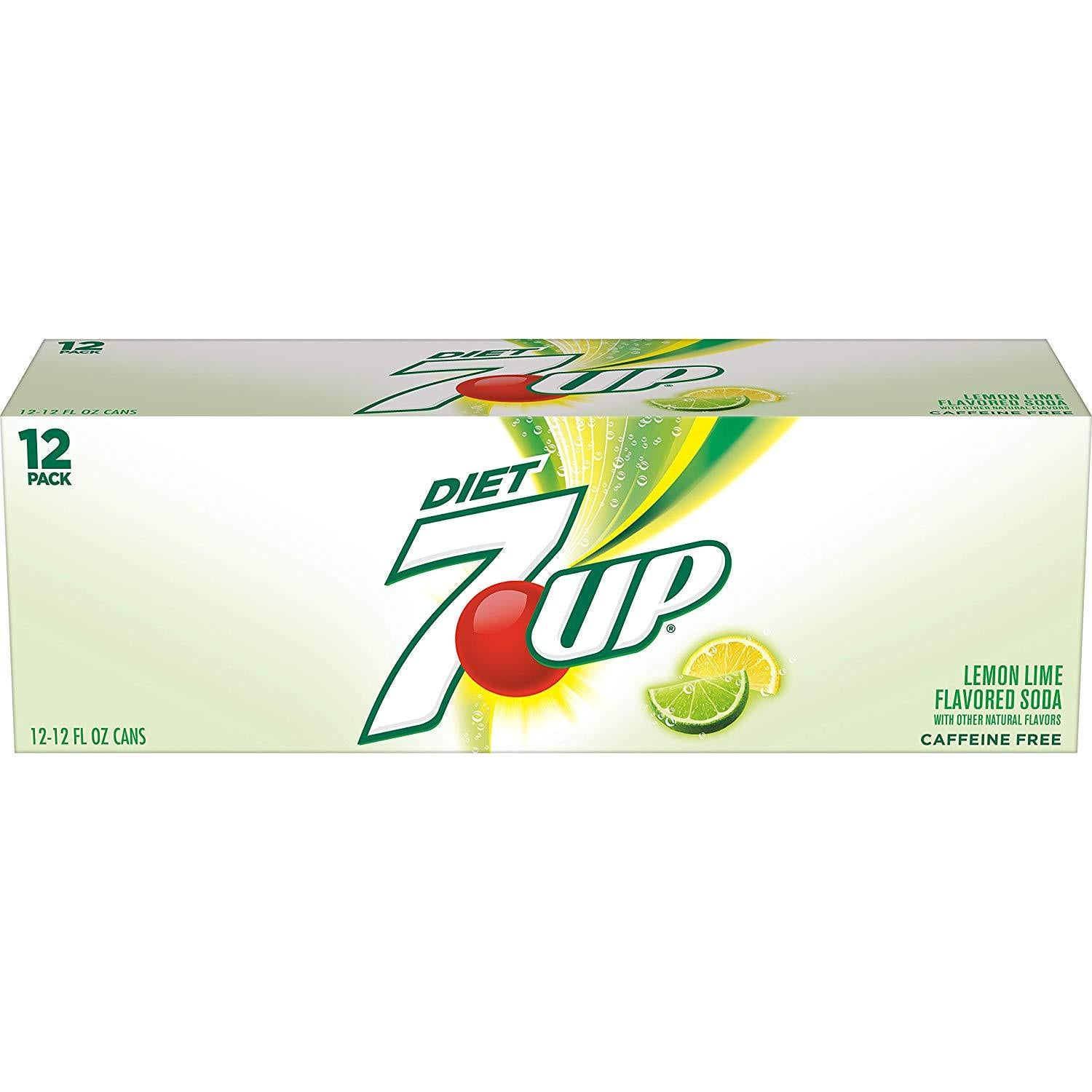 gre>7-Up Diet -12 Pack - cans