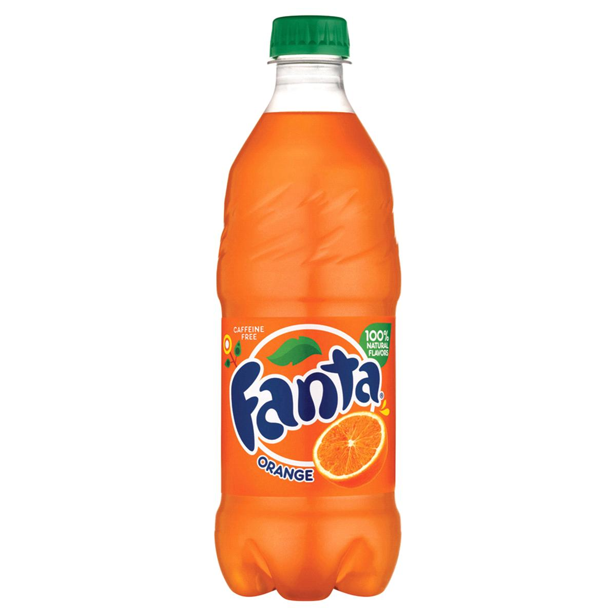gre>Fanta Orange - 24 pack - Bottles