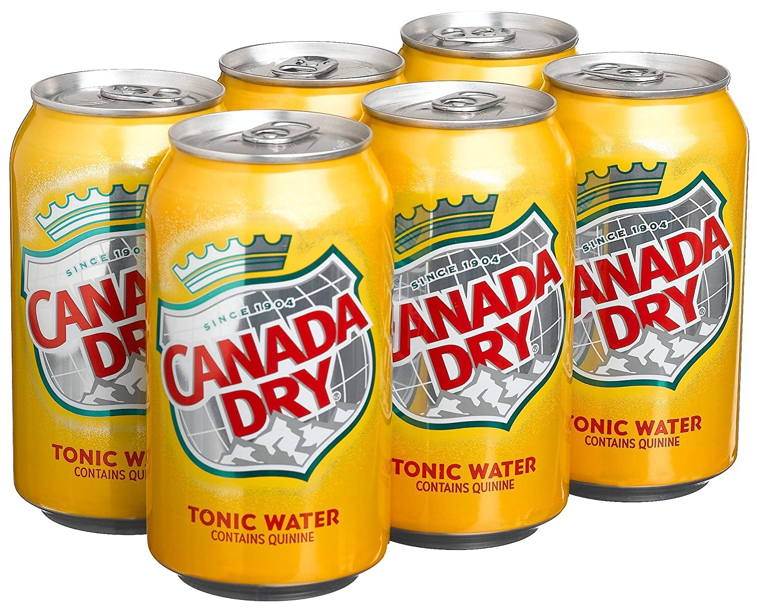 gre>Canada Dry Tonic Water - 6 Pack cans
