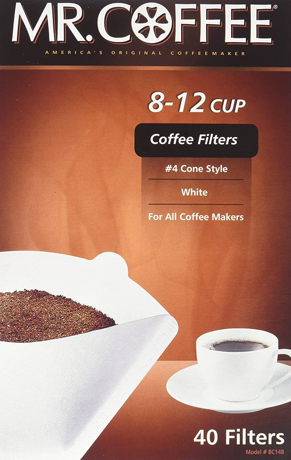 gre>Mr.Coffee Coffee Filters - 40 in Pack