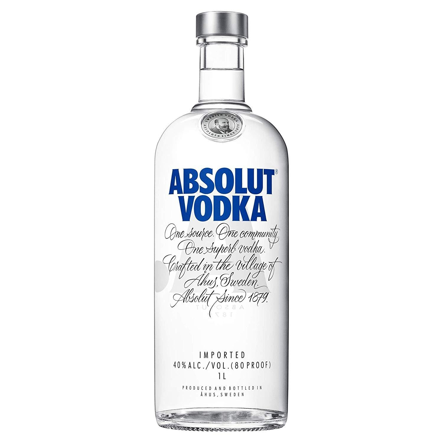 gre>Absolut Vodka - 1 Lt