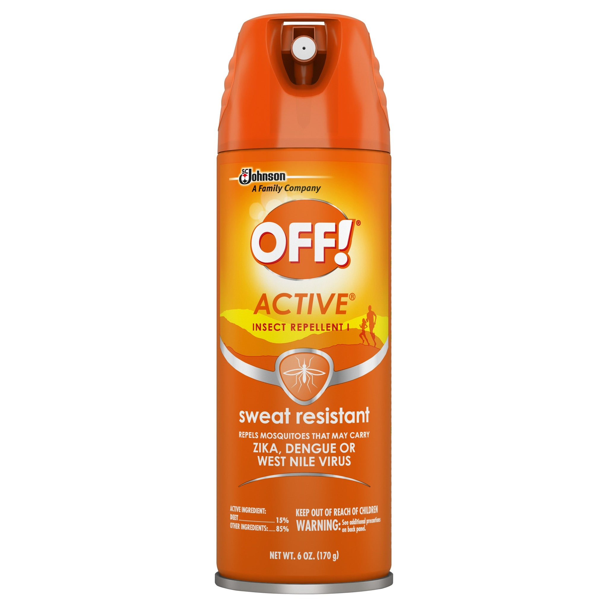 gre>Off Insect Repellent - sweat resistant -6oz
