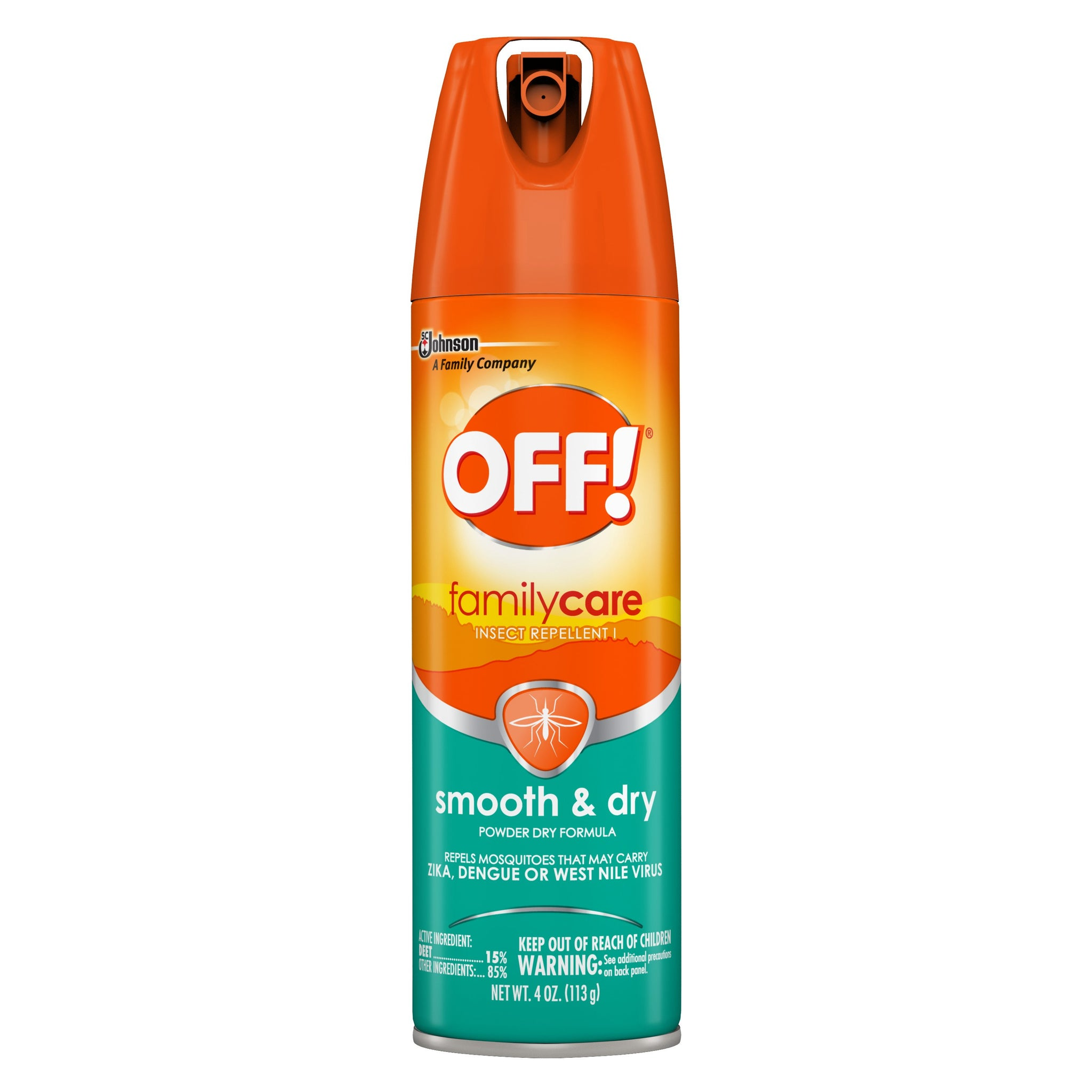 gre>Off Insect Repellent - Family Care - 6oz