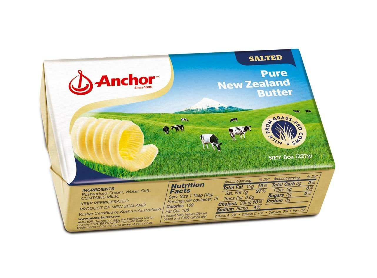 bel>Anchor Salted Butter
