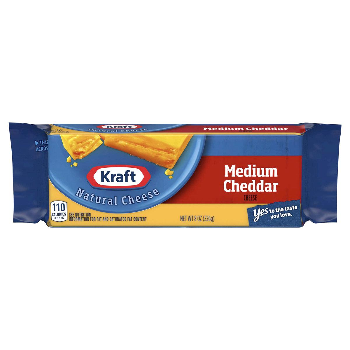 bel>Kraft Cheddar Cheese Medium