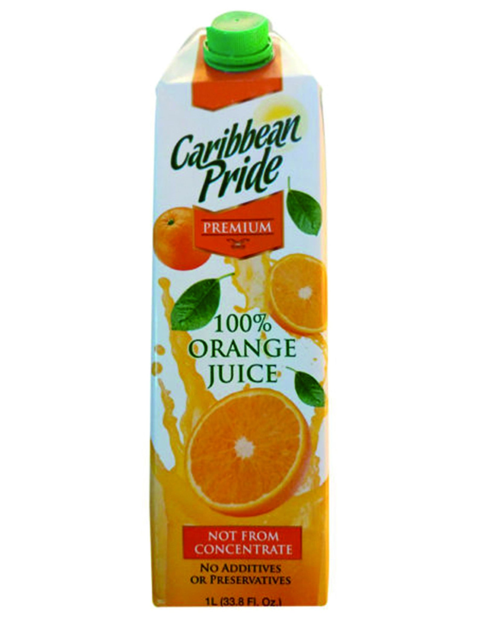 bel>Caribbean Pride Orange Juice