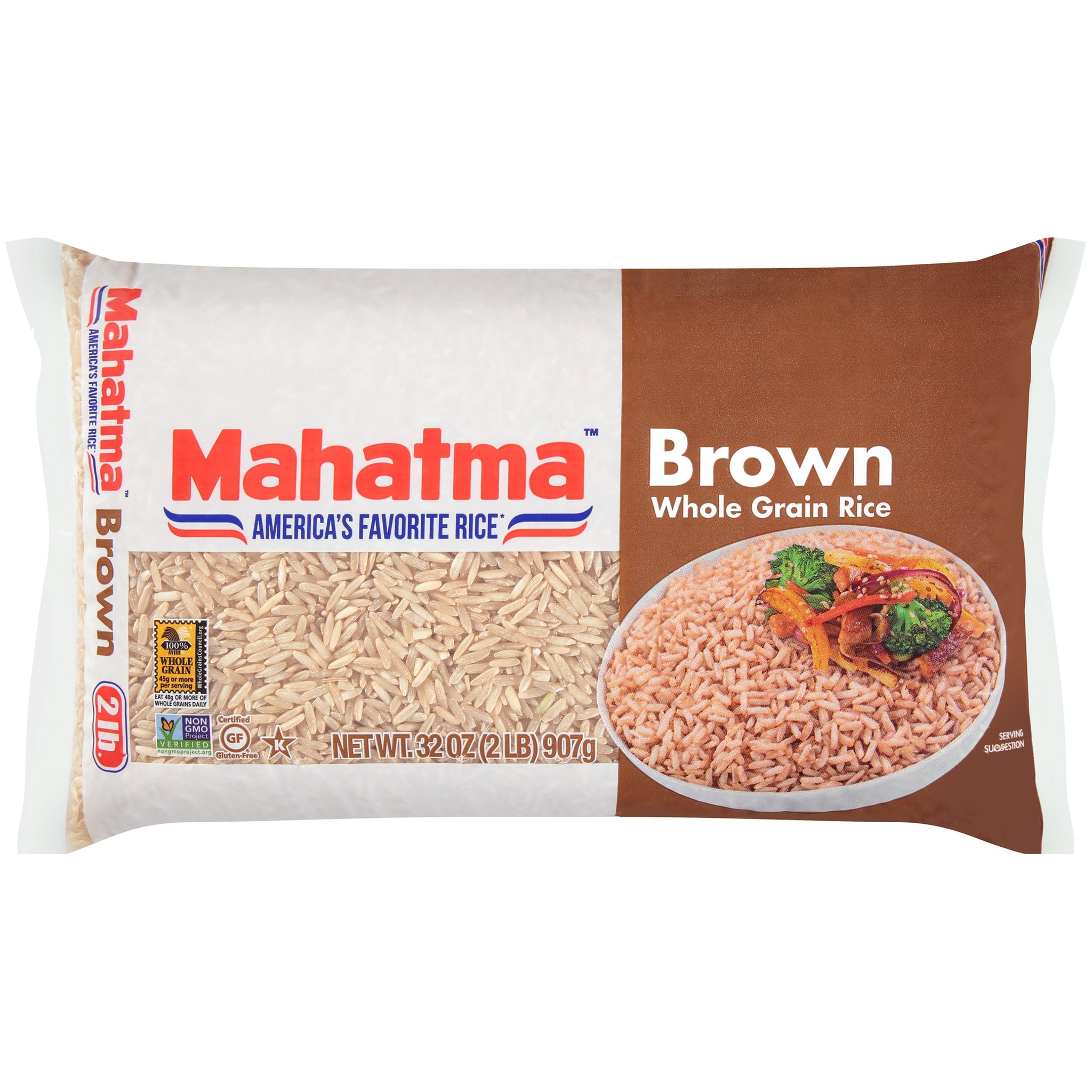 bel>Mahatma Rice, Brown