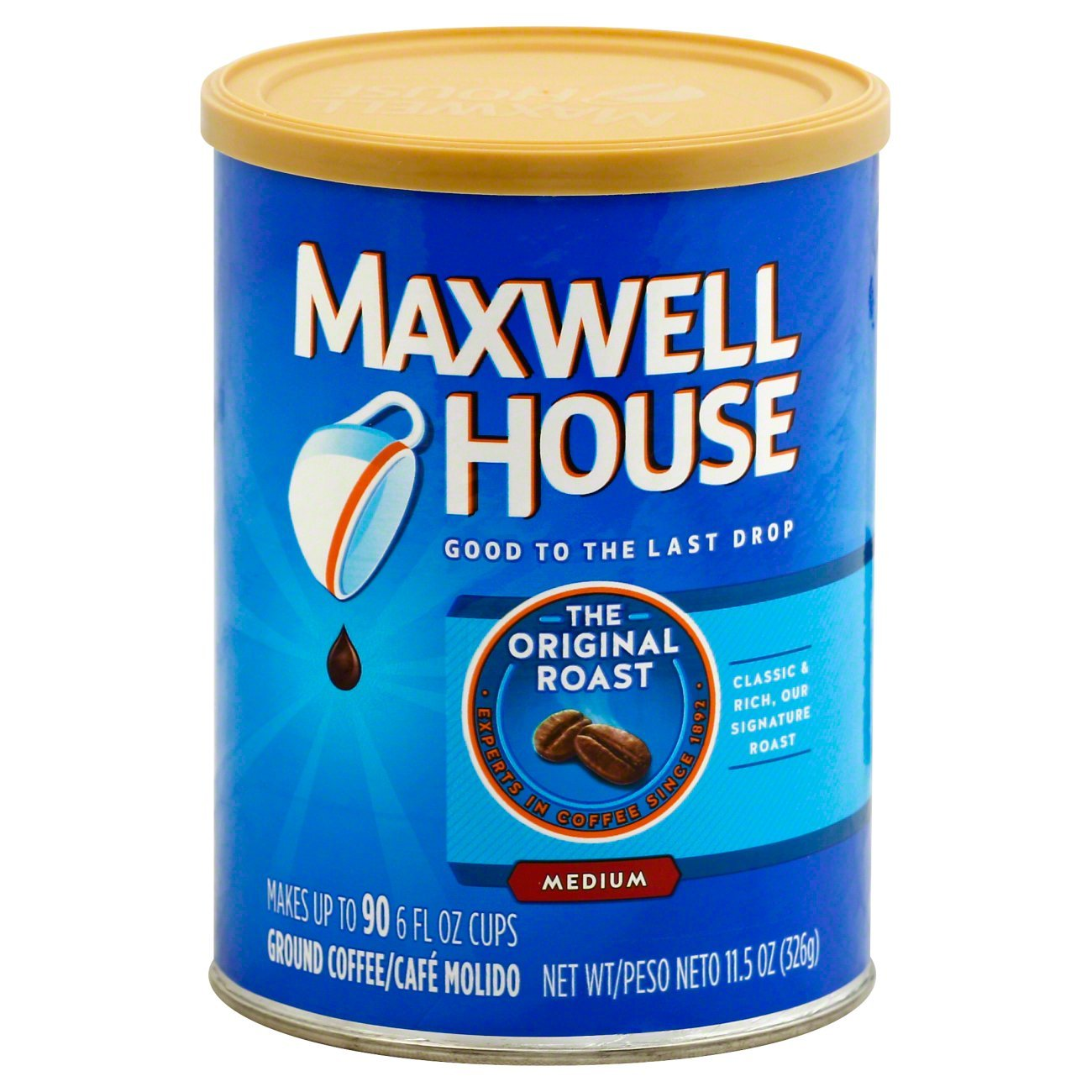 bel>Maxwell House Coffee, Columbian, Medium Roast