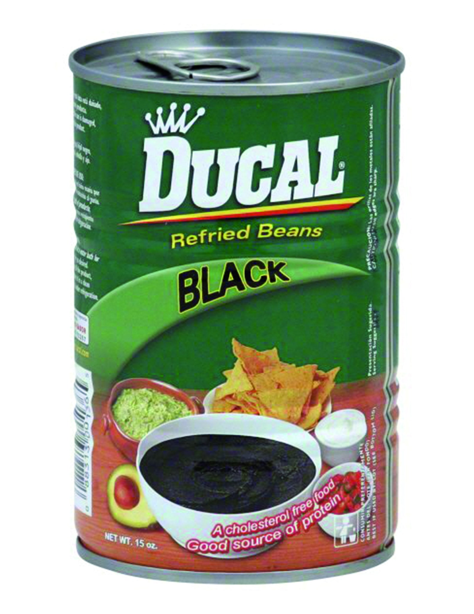 bel>Ducal Refried Black Beans