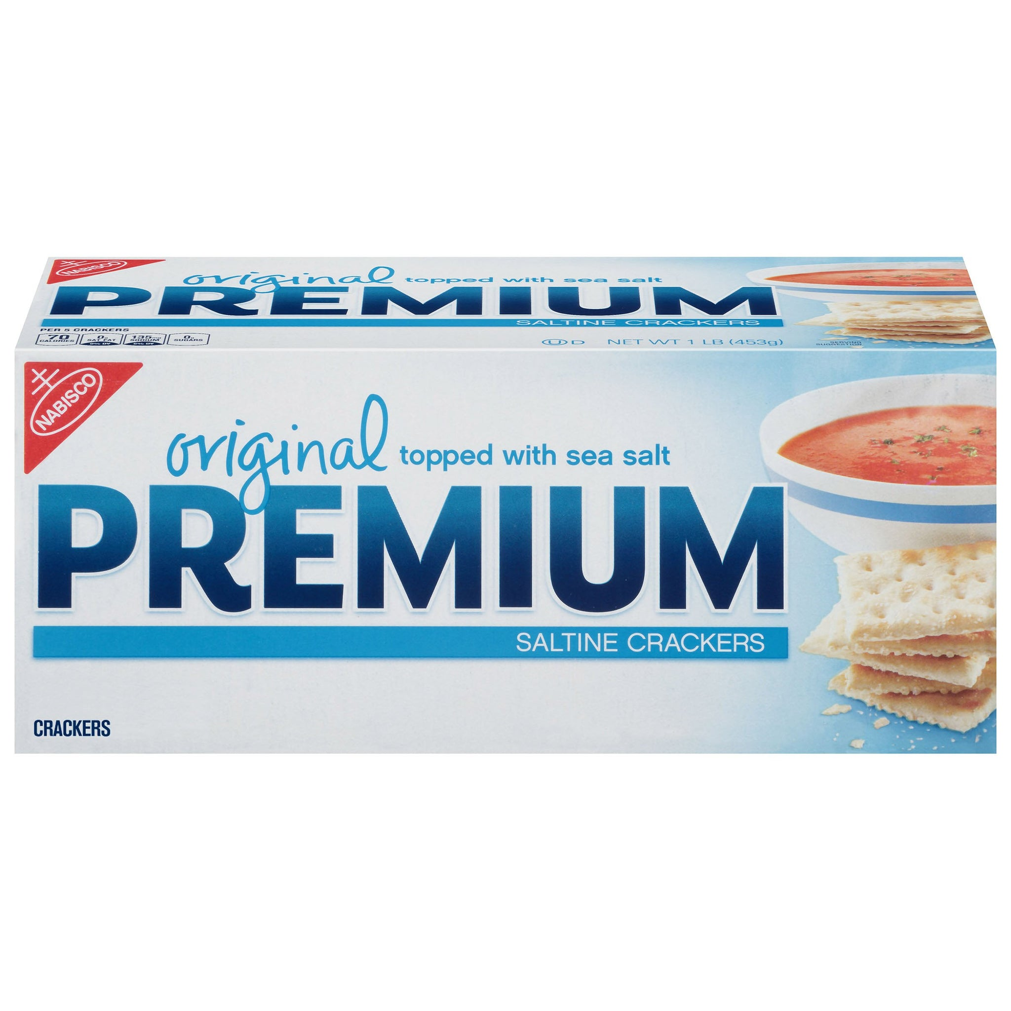 bel>Nabisco Premium Saltine, Crackers