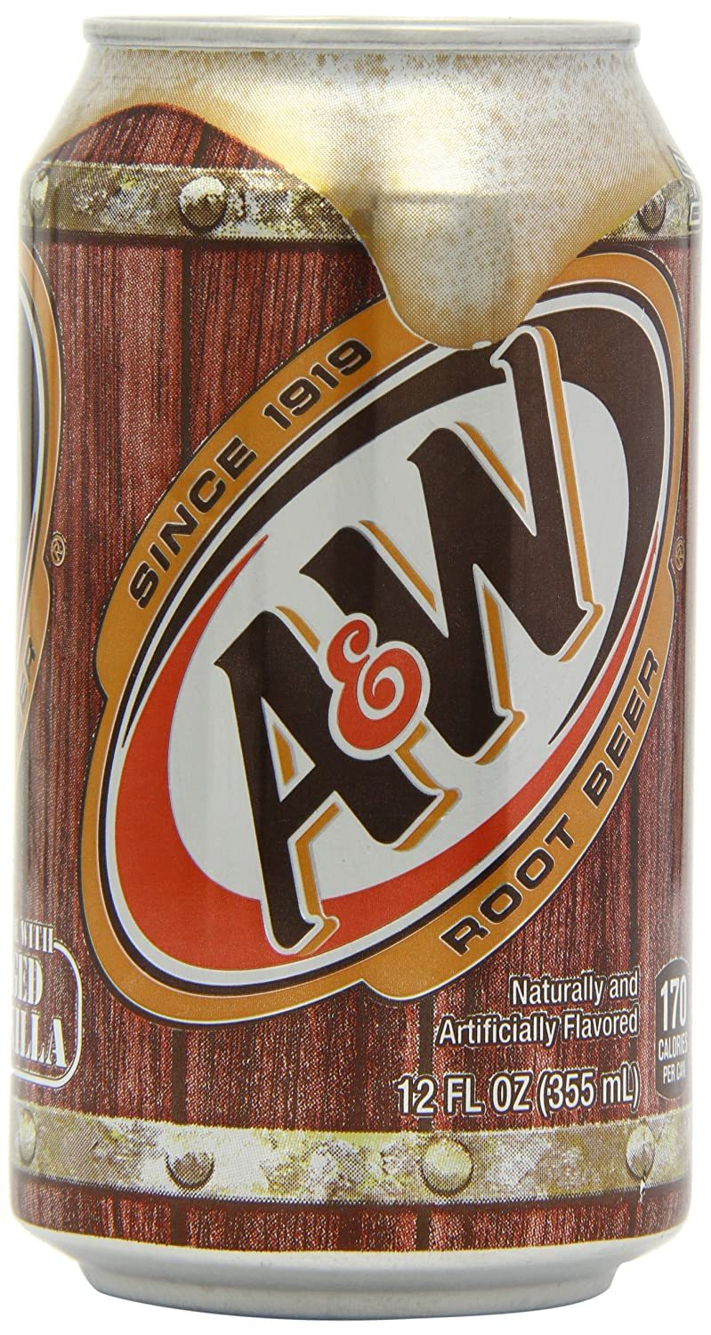 bel>A & W Root Beer, single