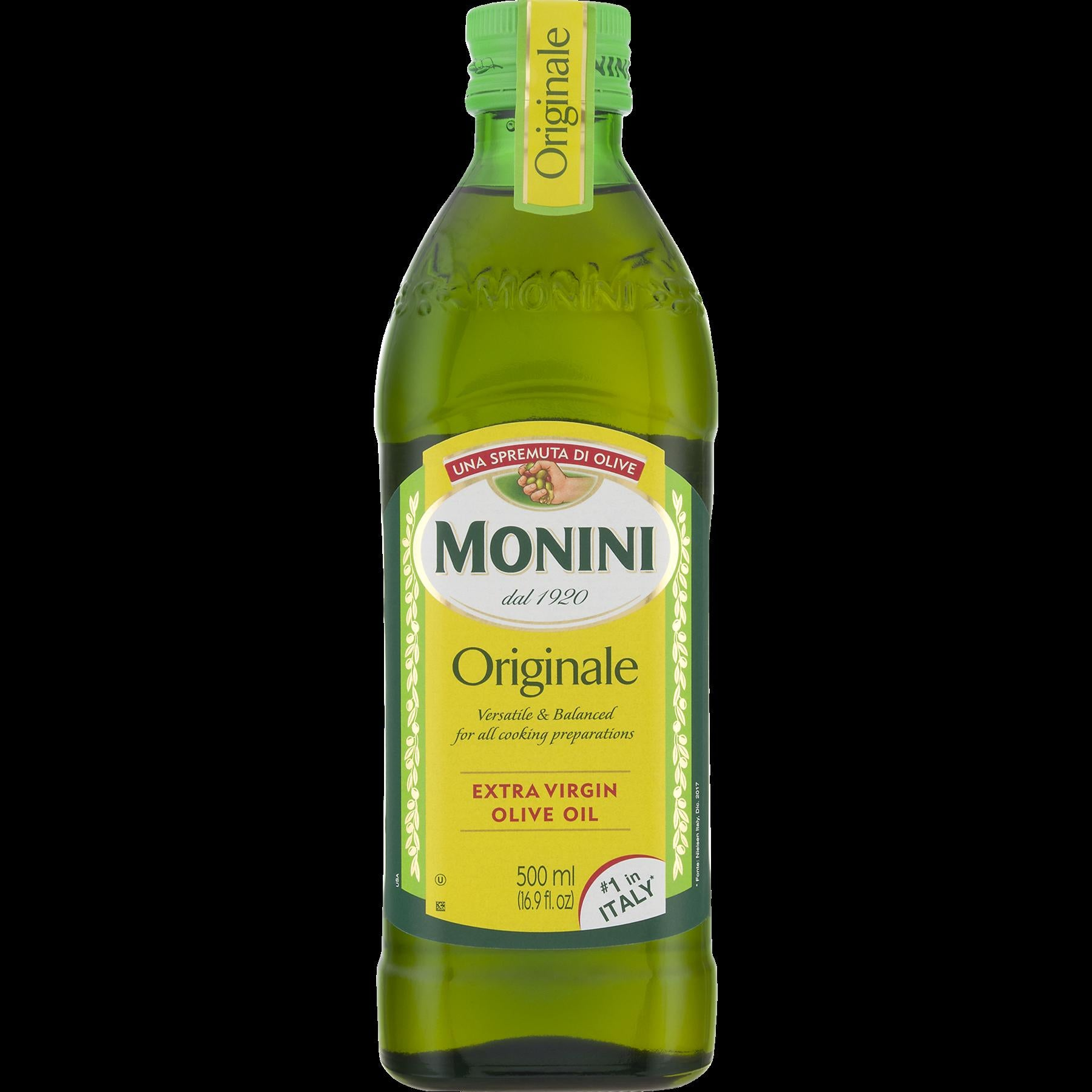 dub>Monini Extra virgin olive oil