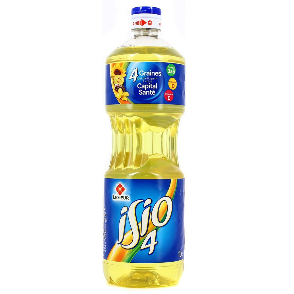 tah>Isio Vegetable Oil 1l