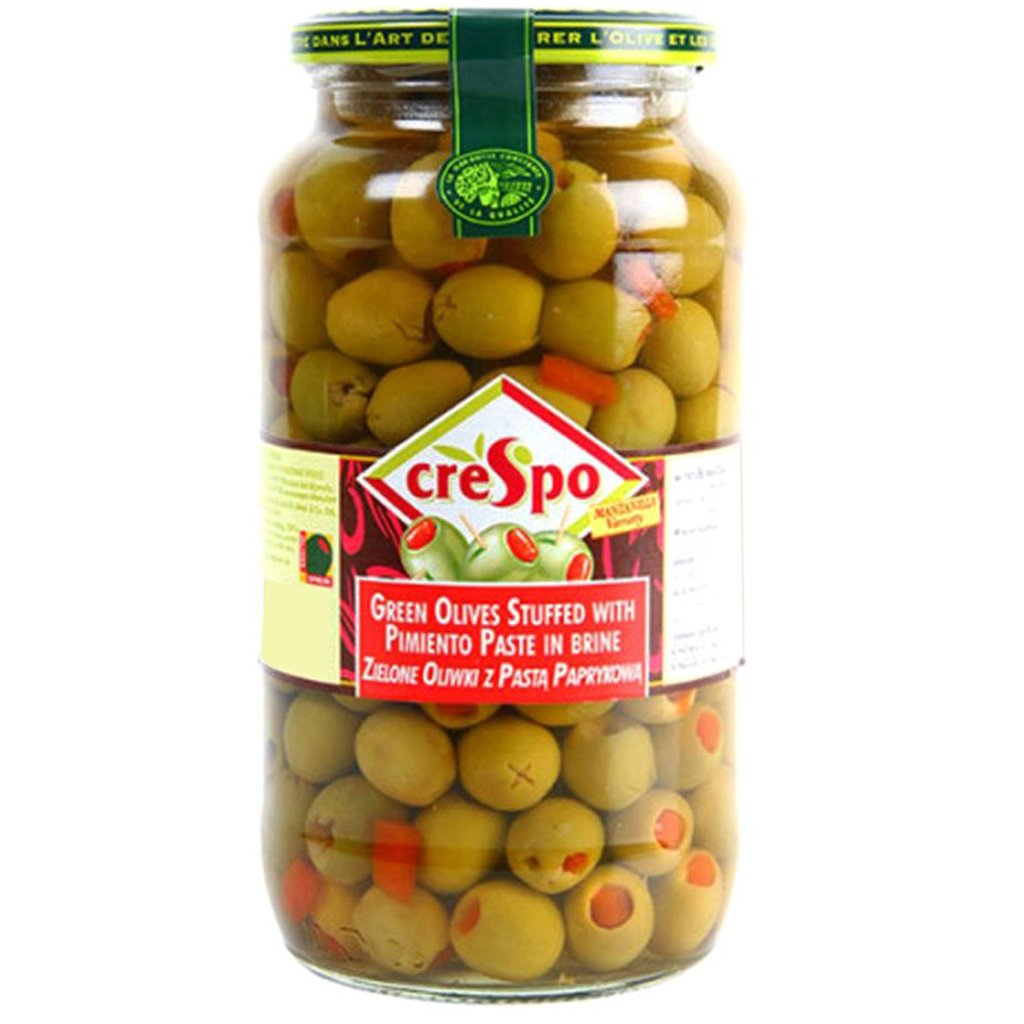 tah>Crespo Olives - Green 250g