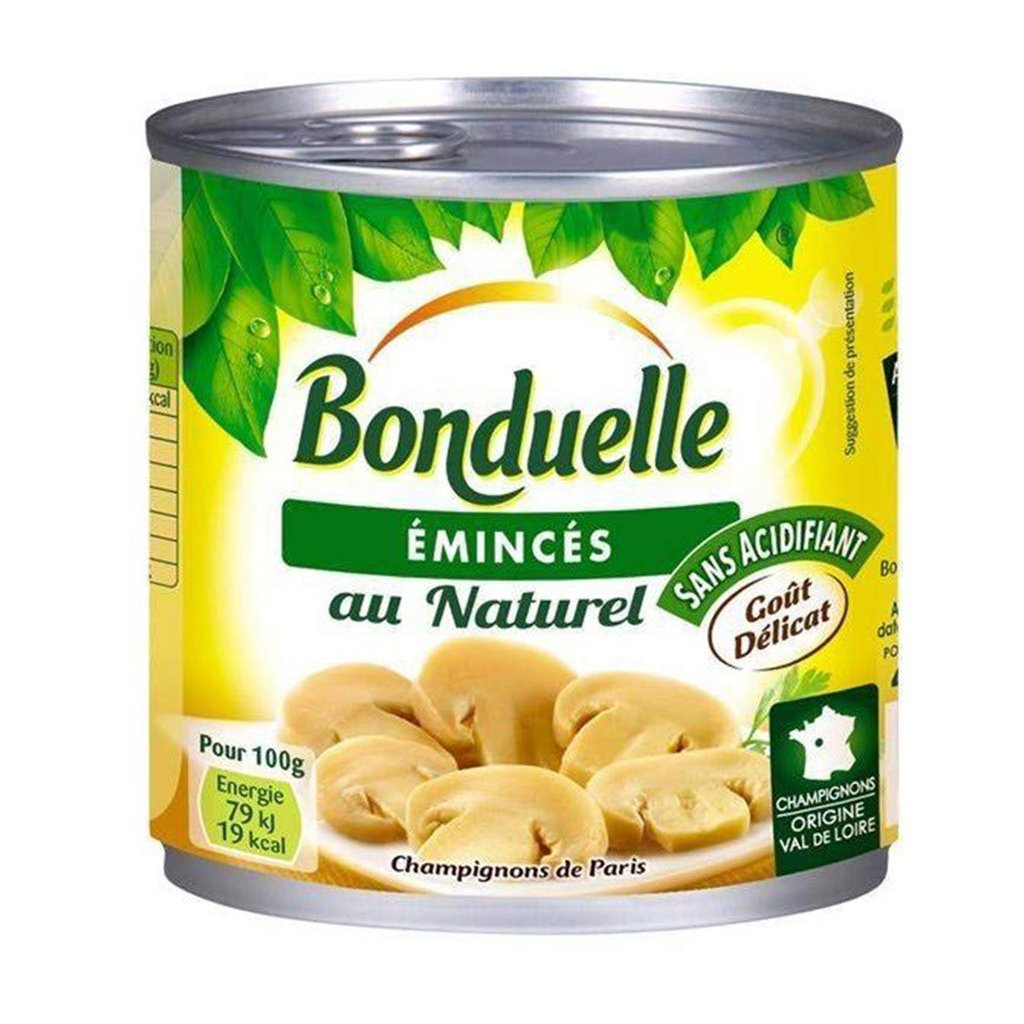 tah>Bonduelle Mushrooms can 425g