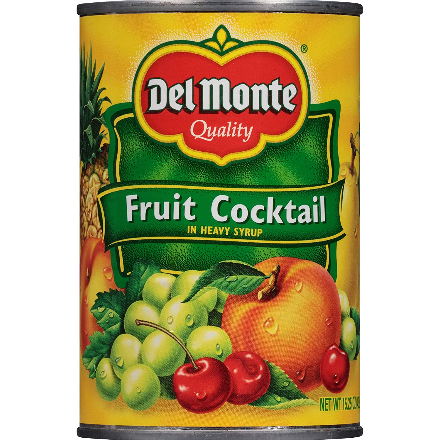 tah>Del Monte Tin Fruits in Syrup (482g)