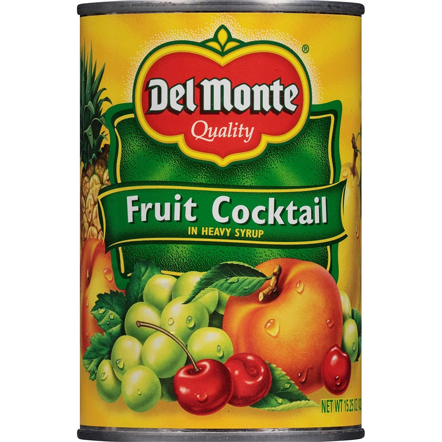 tah>Del Monte Tinned Fruits in Syrup (482g)