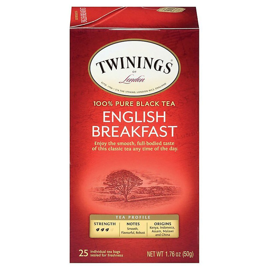 sey>Twinings Breakfast Tea, 25 bags
