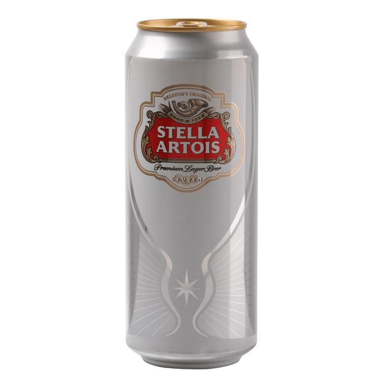 aga>Stella Artois can 0,5 ml