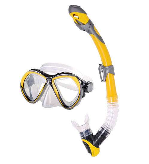 aga>Snorkeling mask and tube ADULT