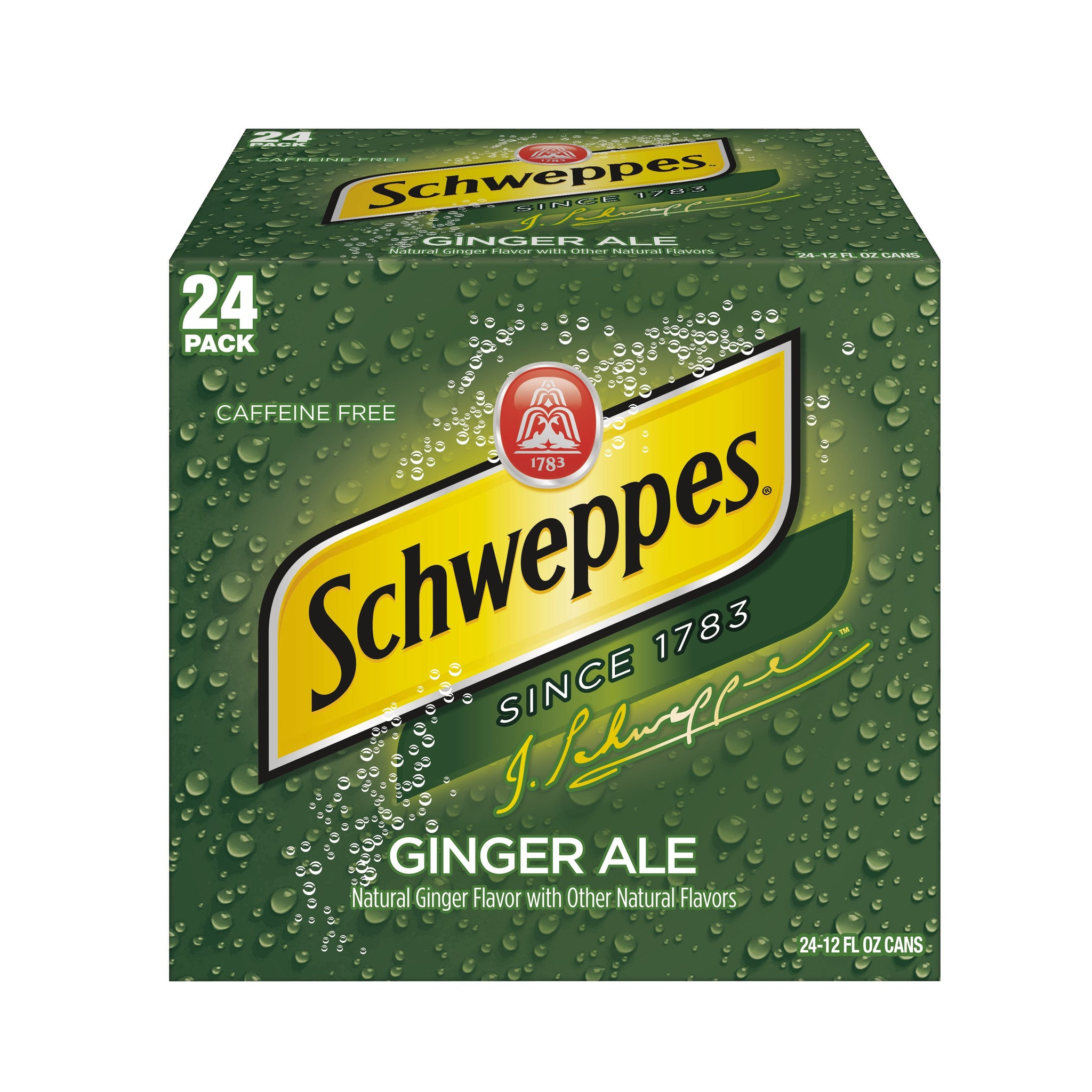 tha>Schweppes dry ginger ale 24 x 330 ml cans