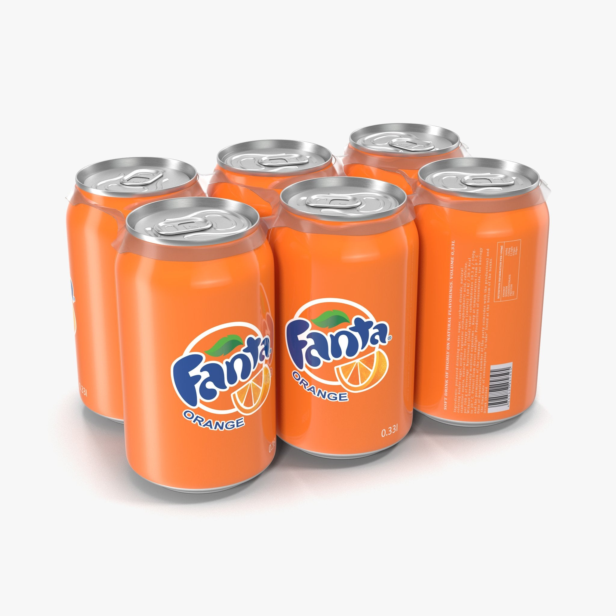 tha>Fanta orange 6 x 330 ml cans