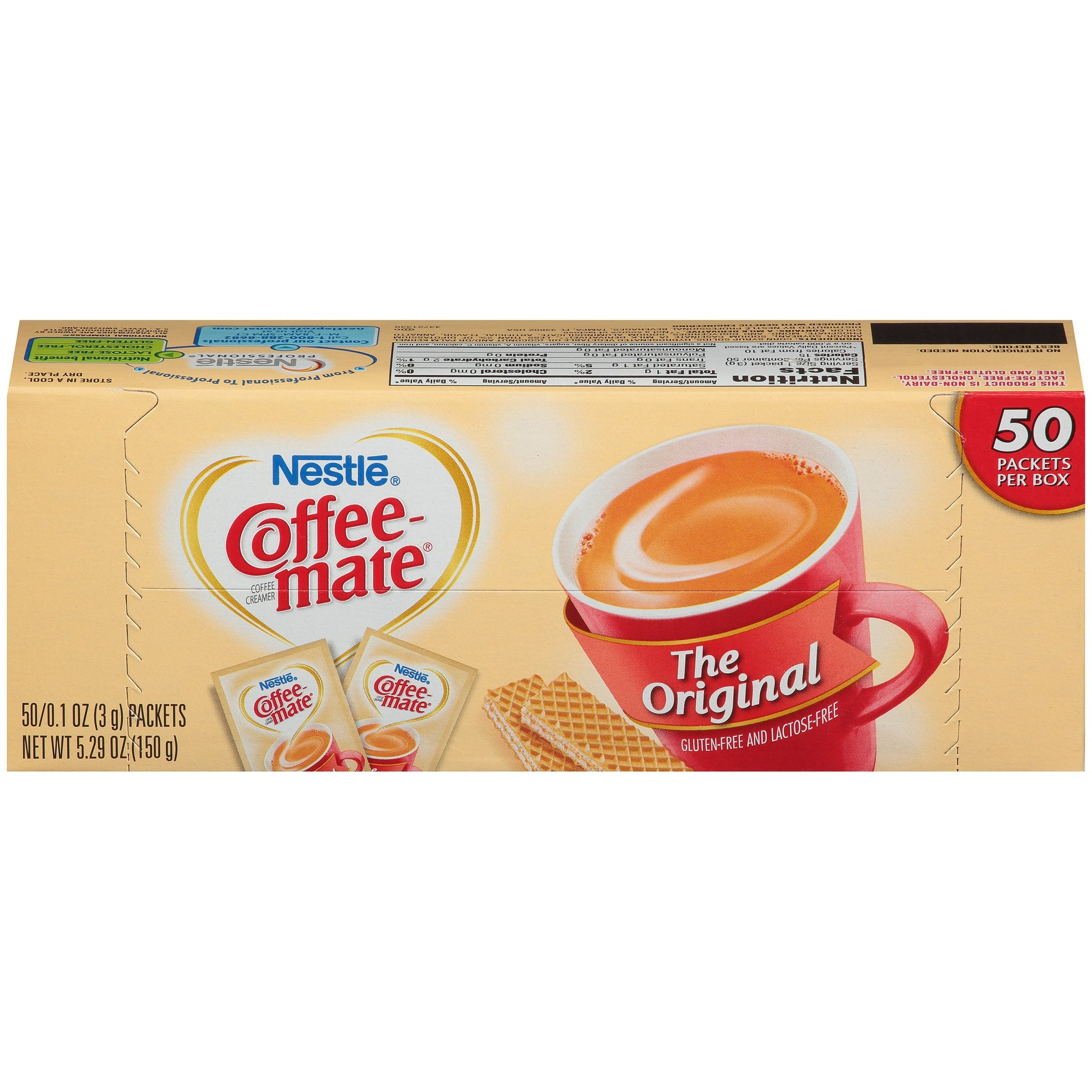 tha>Coffee Mate Sachets Coffee creamer 50 x 3 gram