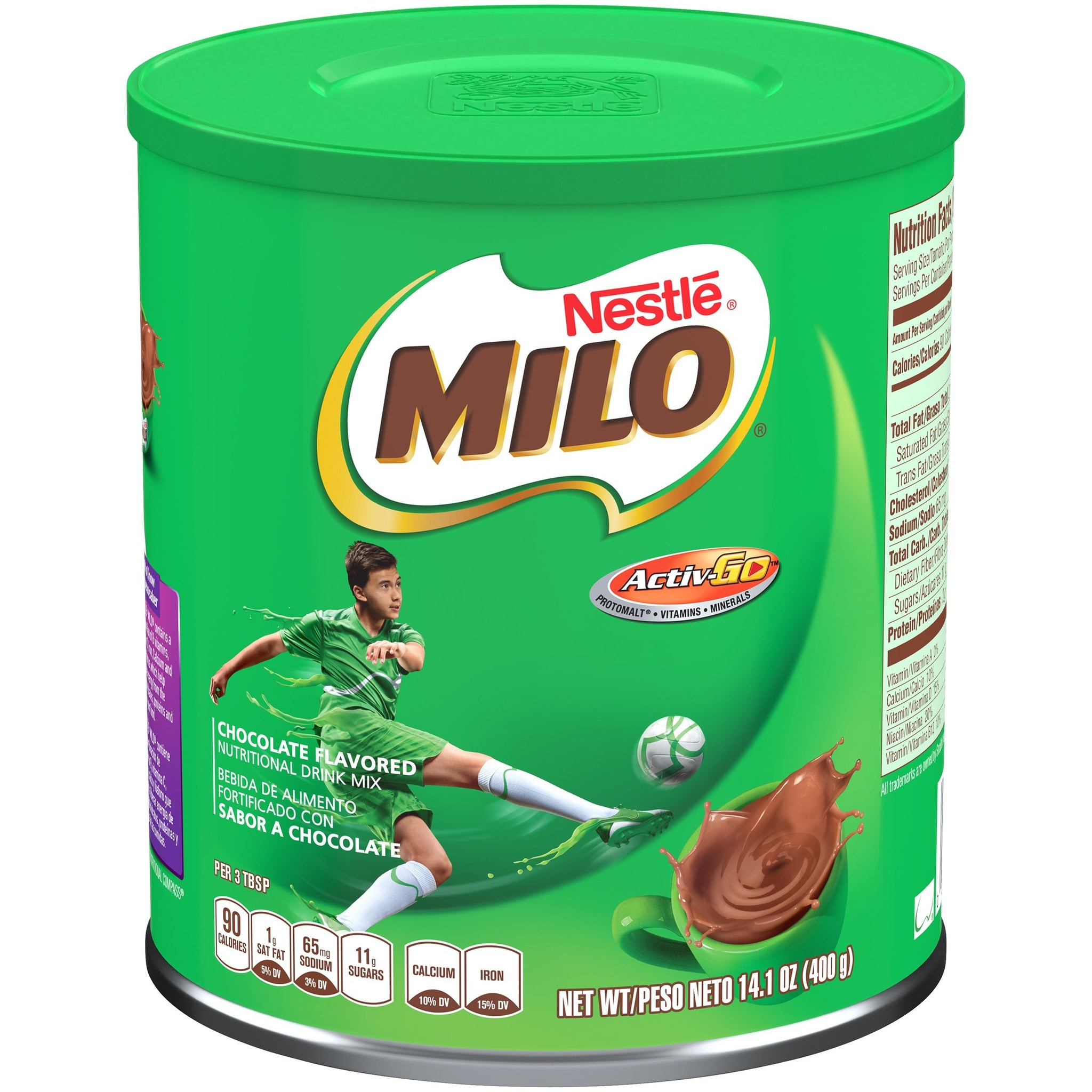 tha>Milo 3 in 1 Instant chocolate 15 x 35 gram