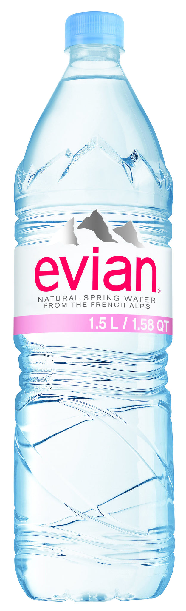 tha>Evian Mineral Water 2 x 1500 ml bottle