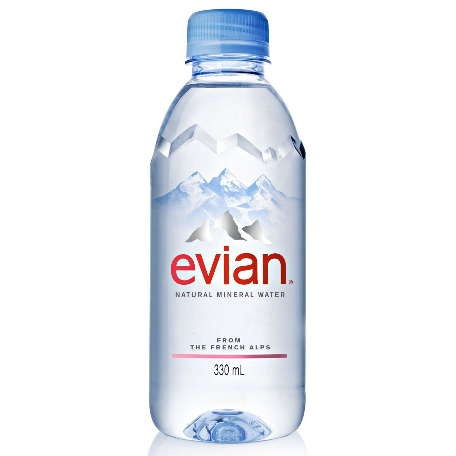 tha>Evian Mineral Water 6 x 330 ml bottle
