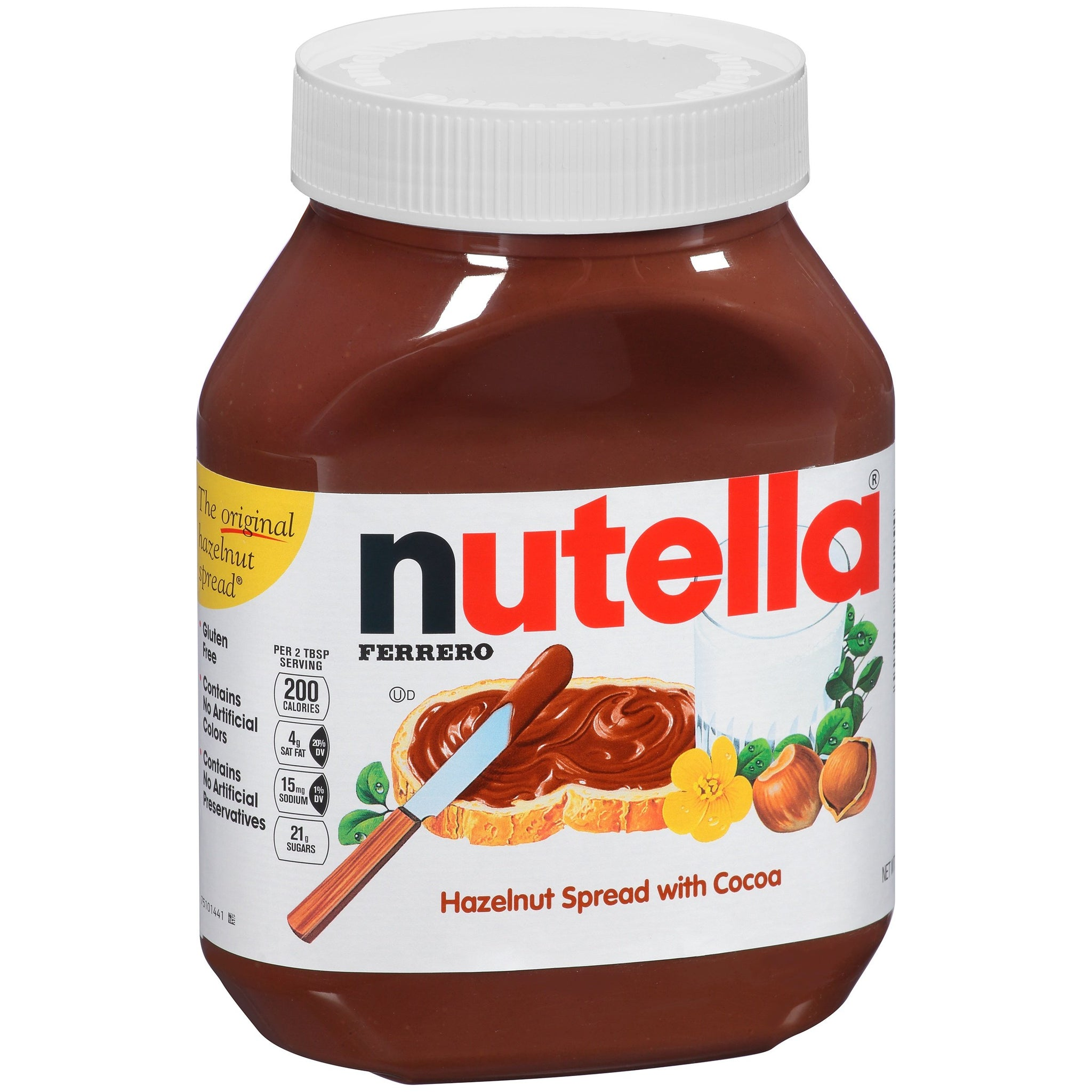 tha>Nutella hazelnut chocolate spread 375 gram