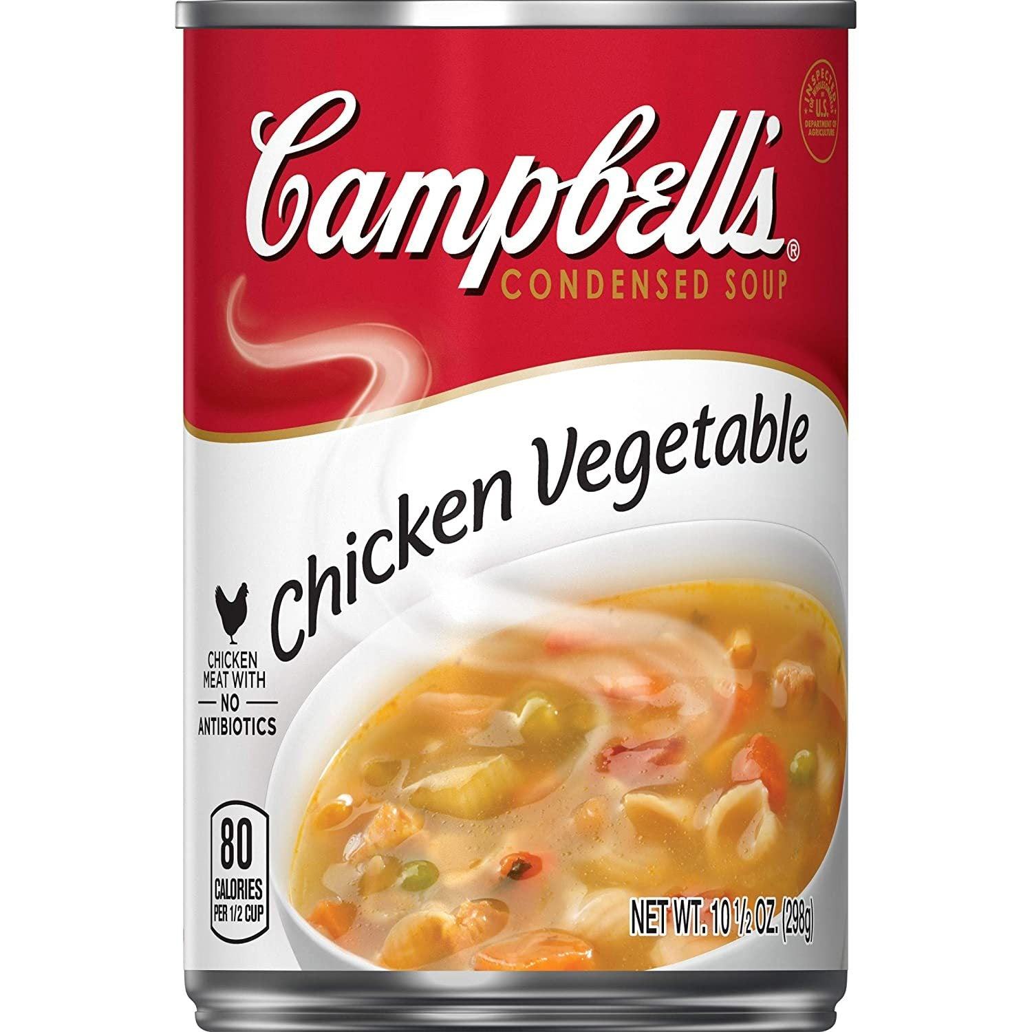tha>Campbell's chicken and vegetable soup, condensed soup, 305 gram