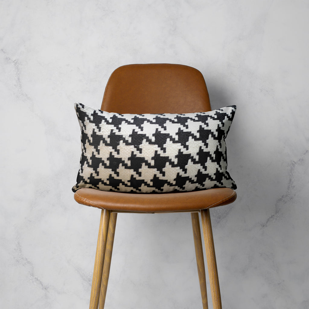 Classic Houndstooth Pillow Cover