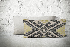 Ikat Print Pillow Cover