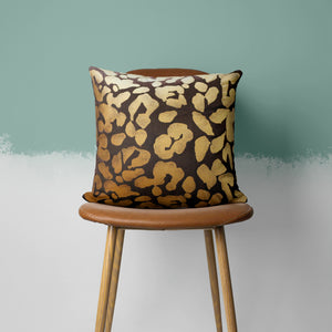 Stylized Leopard Pillow Cover